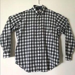 Brooks Brothers 16.5 Plaid Pima Cotton L/S Shirt
